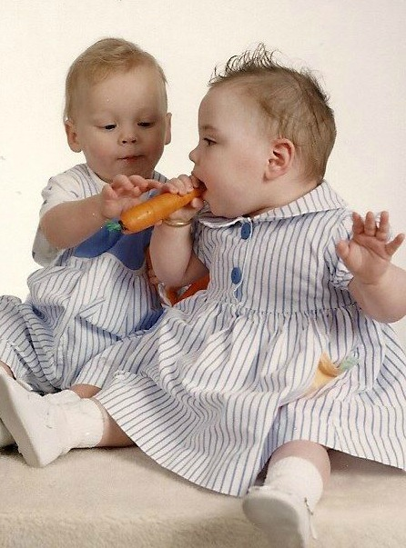 Janssen twin babies