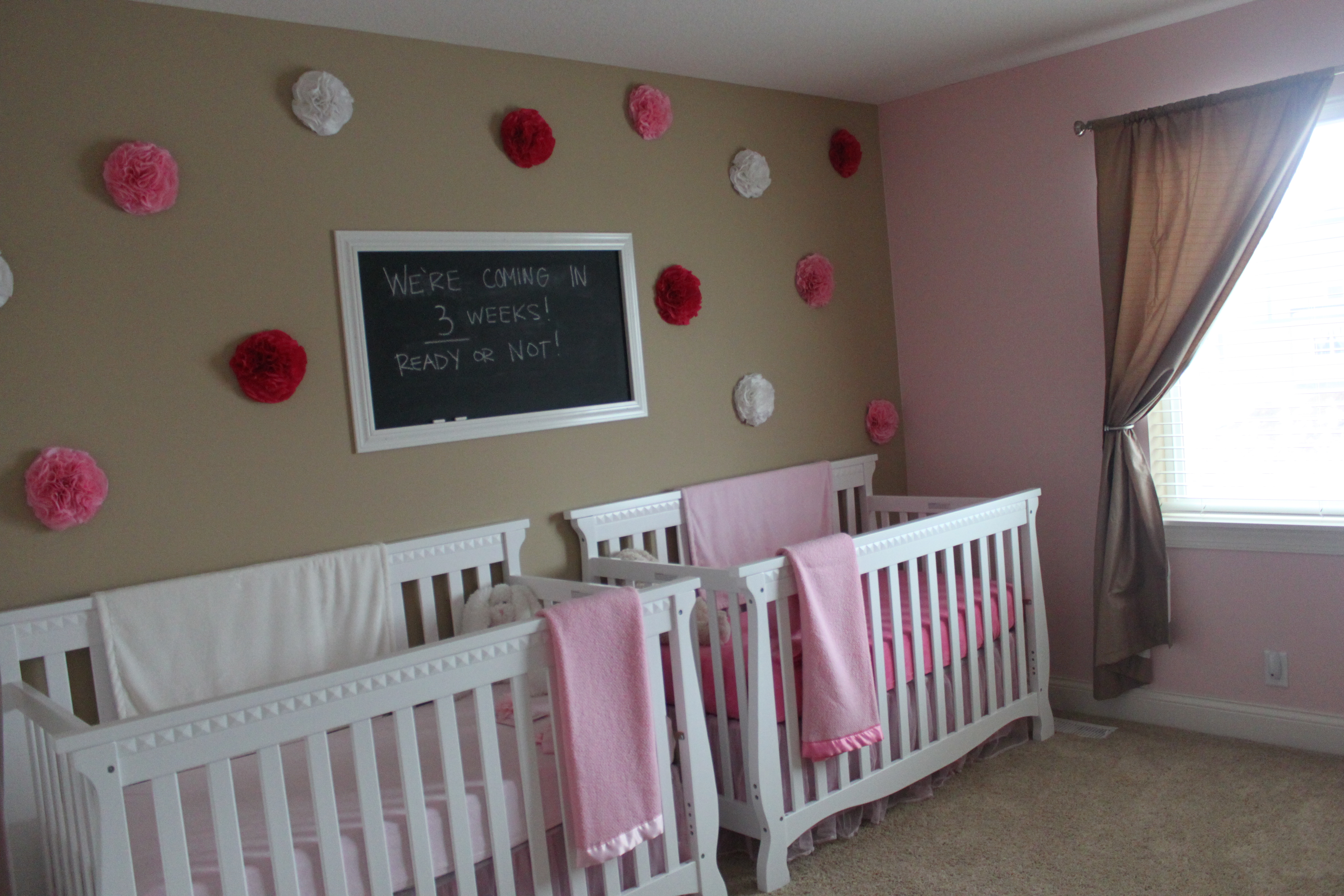 twin girls nursery reveal mommy s me time