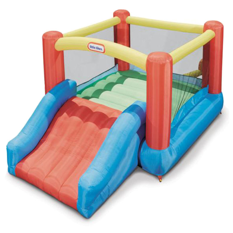 Little tikes jump n slide bouncer giveaway for Balancoire exterieur walmart