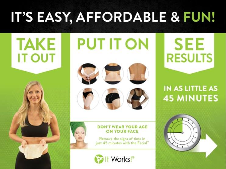 It Works Wrap Mommys Me Time